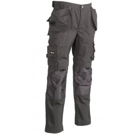 Pantalon de travail Experts Dagan Gris Moyen - HEROCK