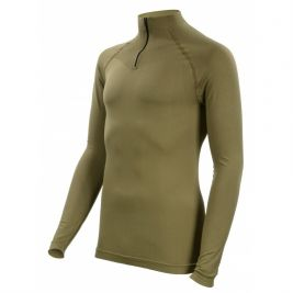 Tee-shirt Technical Line coyote Col Mao - Summit Outdoor