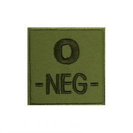 Insigne O- de groupe sanguin Kaki - TOE