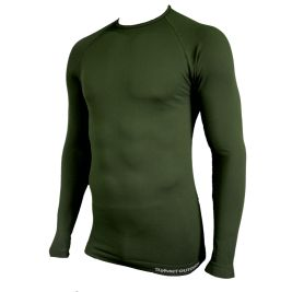 Tee-shirt Technical Line Col rond Vert OD - Summit Outdoor