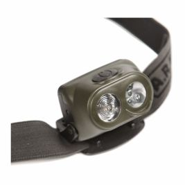 Lampe frontale 1W + 4 LED - Ares