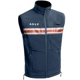 Gilet Softshell A.S.V.P. PM One sans manches - TOE