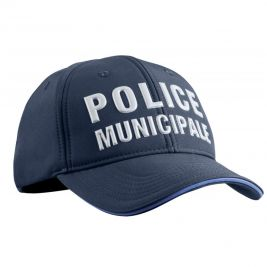 Casquette Police Municipale PM One Stretch Fit hiver - TOE