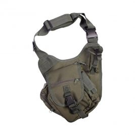 Sacoche tactical shoulder 7L vert olive - Kombat Tactical