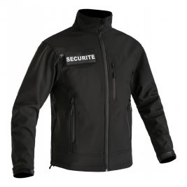 Veste softshell Sécu-one flap sécurité - TOE Concept
