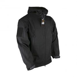 Veste Softshell Patriot noir - Kombat Tactical