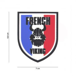"Patch blason ""French Viking"" en PVC - 101 Inc"