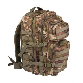 Sac à dos US Assault Pack Grand Vegetato Camo- Miltec