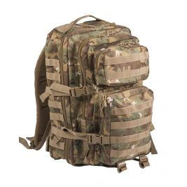 Sac à dos US Assault Pack Grand W/L ARID Camo- Miltec