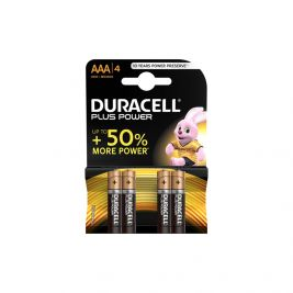 Piles alcalines AAA LR03 - Duracell