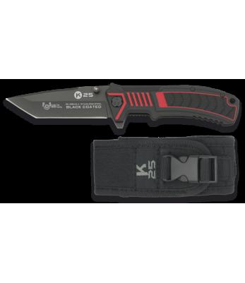 Couteau pliant Tactique 19945-A noir - K25