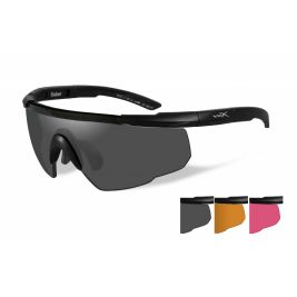 Lunettes Saber ADV Smoke/Orange/Rouge Black Frame - Wiley X