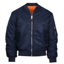 Veste bomber aviation MA-I bleu - Fostex Garments