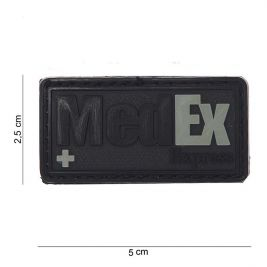 Patch 3D PVC MedEx Noir - 101 Inc