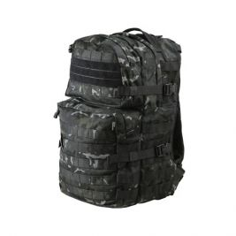 Sac à dos Medium Assault Pack 40L Camo Noir - Kombat Tactical