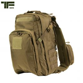 Sac bandoulière Multi Cordes 18L Coyote - Task Force 2215