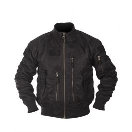 Veste US Tactical Flight Noir - Miltec