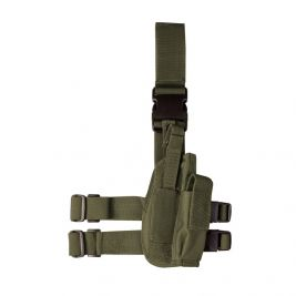 Holster de Cuisse Tactical Vert OD - Kombat Tactical