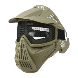Masque de protection intégral Coyote - Kombat Tactical
