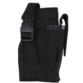 Molle Gun Holster with Mag Pouch - Black