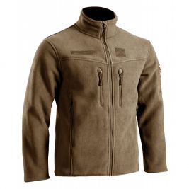 Blouson polaire militaire Defender Field tan - TOE