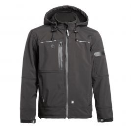 VESTE SOFTSHELL FLORES NOIR - North Ways
