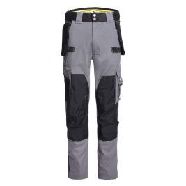 PANTALON DE TRAVAIL HOWARD GRIS ET NOIR - North Ways
