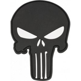 Patch Punisher avec velcro - Barbaric