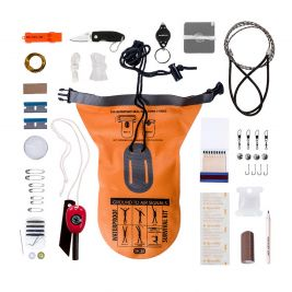 Waterproof survival kit CK050 - BCB