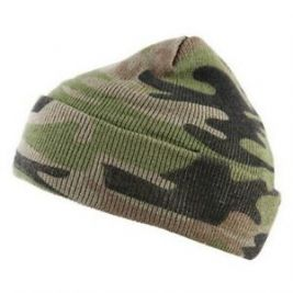 Watch cap camouflage fine Woodland - Fostex Garments