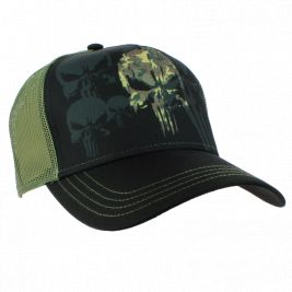 Casquette PUNISHER CAMO - Army Design by Summit Outdoor