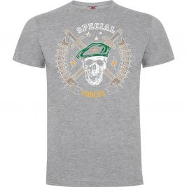 Tee-shirt Special forces Gris Chiné - Army Design by Summit Outdoor