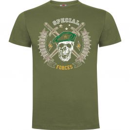Tee-shirt Vert Special forces - Army Design by Summit Outdoor