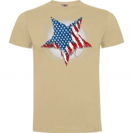 Tee-shirt Etoile US Sable - Army Design by Summit Outdoor