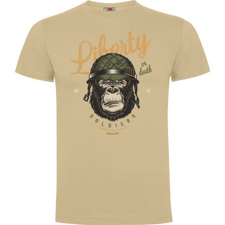 Tee-shirt Sable Liberty or Death- Army Design by Summit Outdoor