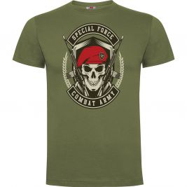 Tee-shirt Vert Combat Army - Army design by Summit Outdoor
