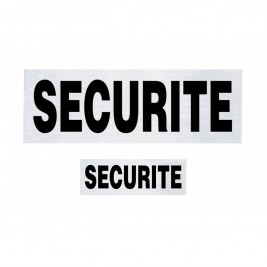 Lot de 2 Bandeaux SECURITE - TOE