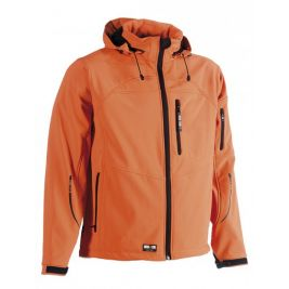 Veste Softshell orange à capuche - HEROCK